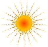 Sun caliente Fotografía de archivo