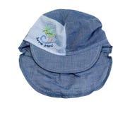 Sun cap with a visor Stock Image