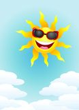Sun cartoon Royalty Free Stock Images