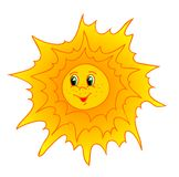 Sun cartoon Royalty Free Stock Photos