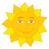 Sun Cartoon Stock Photography