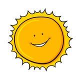 Sun cartoon Stock Photography