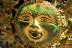 Sun in Cast Iron Glee Royalty Free Stock Photos