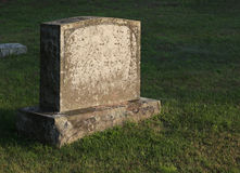Sun-cast Tombstone Royalty Free Stock Photos