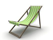 Sun chair royalty free illustration