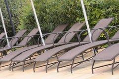 Sun chairs Stock Photo