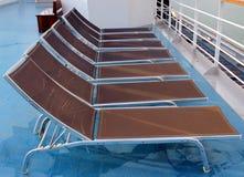 Sun chairs Royalty Free Stock Photo