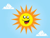 Sun Character Stock Photography