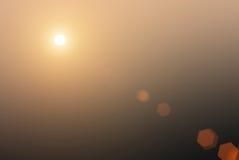 Sun chaud Images stock