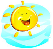 Sun (cheerful) Stock Images