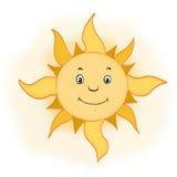 Sun, cheerful illustrations Royalty Free Stock Image