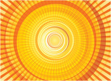 Sun circles Royalty Free Stock Images