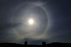 Sun Halo Royalty Free Stock Image