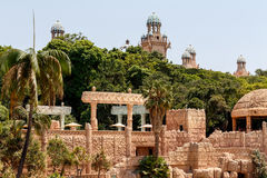 Sun City,失去的城市,南非宫殿  免版税库存图片
