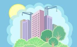 Sun City är under konstruktion Arkivfoton