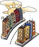 Sun City Imagens de Stock