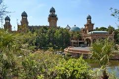 失去的城市旅馆的宫殿在Sun City 免版税库存图片