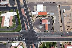 Sun City Intersection Royalty Free Stock Images
