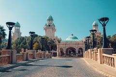 Sun City, Lost City in South Africa stock images
