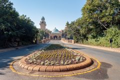 Sun City, Lost City in South Africa. Sun City or Lost City, big entertainment center in South Africa like Las Vegas in North America stock images