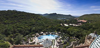 Sun City, Lost Palace - Panoramic Royalty Free Stock Images