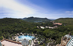Sun City, Lost Palace - Panoramic Royalty Free Stock Photos