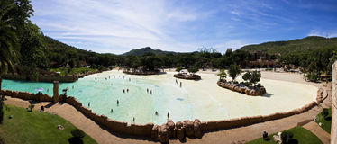 Sun City, Lost Palace, Valley of Waves - Panoramic Royalty Free Stock Images