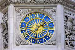 Sun clock Royalty Free Stock Image