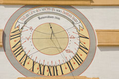 Sun clock Stock Images