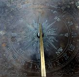 Sun clock (sun dial) royalty free stock photo