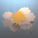 Sun Cloud Stock Photography