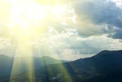 Sun in a clouds