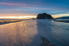 Sun, clouds and sky. Sun, clouds and sky, beautiful fall evening in Krabi Royalty Free Stock Images