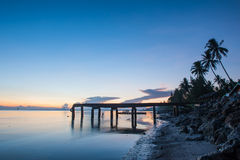 Sun, clouds and sky,. The sun rises in the morning sky, clouds and beautiful Surat thani Royalty Free Stock Photos