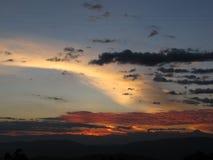 Sun Colômbia Fotografia de Stock