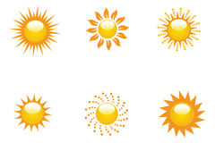 Sun Collection Stock Images