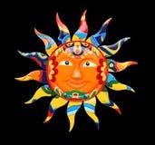 Sun coloré vibrant images stock
