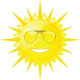 Sun com máscaras Fotos de Stock