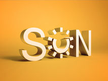 Sun concept Royalty Free Stock Photo