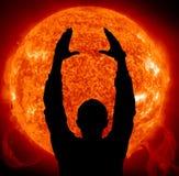 Sun in control Stock Image