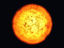 Sun corona. Royalty Free Stock Photos