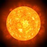 Sun corona Stock Image