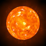 Sun corona Royalty Free Stock Photos