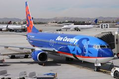 Sun Country Airlines Stock Image