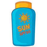 Sun cream Royalty Free Stock Image