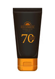 Sun Cream Professional Series Stock Photo