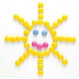 Sun cukierki zdjęcie royalty free