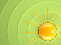 Sun, 3D Stockbild