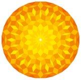 Sun da un modello di Penrose Fotografie Stock
