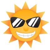 Sun de brilho Fotografia de Stock